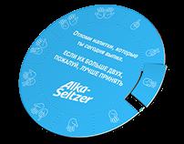 Alka-Seitzer coasters