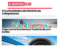 Textos para Almanaque.Club.