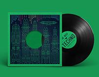 Vinyl record cover design v2.01