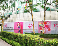 Outdoor Hoarding Design