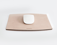 Baneret Leather Mouse Pad