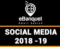 Social Media | 2018-19 - ebanquet