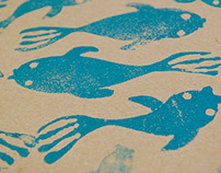 school of fish | magiclamp notebook