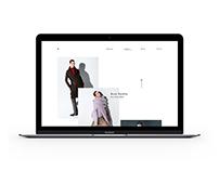 Style.com Website Concept