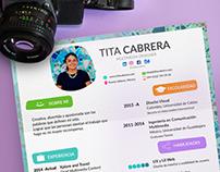 Resume/CV 2016 /Tita Cabrera