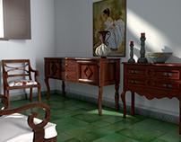Living room Assets (WIP)