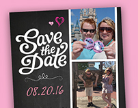 Save the Date - Disney World Theme