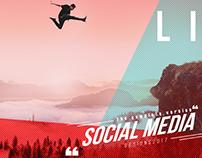 Social media Designs of 2017