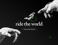 Ride The World branding.