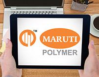 Maruti Polymer Logo Design