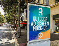 Outdoor Advertising Screen Mock-Ups 14 (v.5)