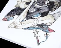 YOKAI BOOK My first personal art book