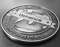 My Behance Appreciation Award Coin