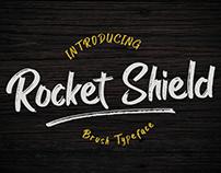 Rocket Shield Brush Font