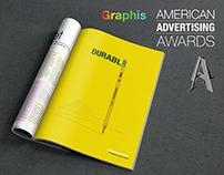 "Ticonderoga - ""The World's Best Pencil"" 3 page campaign"