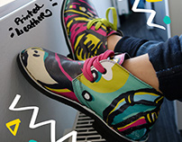 Printed Leather Shoes Design