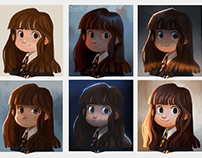 Hermione Granger - Color and Light Study