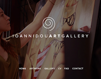 Website Ioannidou Art Gallery
