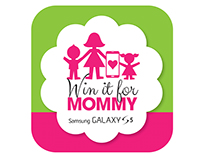 """Win it for Mommy"" Mother's Day promotion for Samsung"