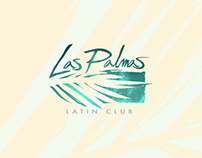 """Las Palmas Latin Club"" Logo & web elements."