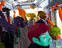EL METROBUS MONSTERS' Я 'US