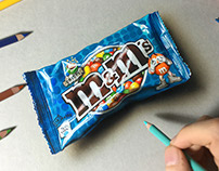 Drawing M&M's