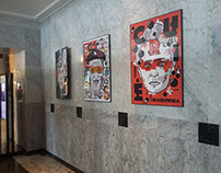 My New exhibtion in Hotel Bristol, Warsaw Poland
