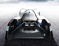 Mercedes-Benz Racing Drone Design -Personal Project