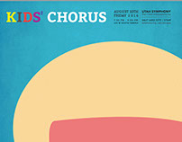 Kids Chorus Poster(Conceptual Layout Extend)