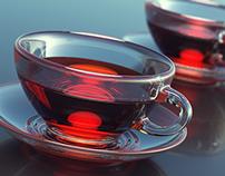 Cup of tea render