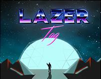 Asgard Lazer Tag Retro Poster!