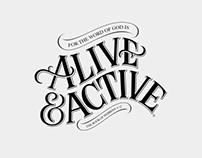 Alive & Active