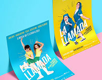 LA LLAMADA The Musical. Posters & Communication