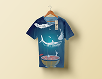 Save the ocean T-shirt concept // Tobias LIlja