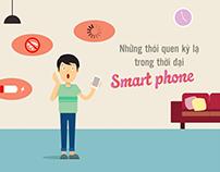 Những thói quen kỳ lạ ở thời đại Smartphone / Ngọc Yến