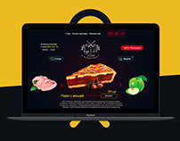 Пироги | Landing Page