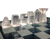 Glass Chess Set | İnternship Project