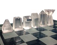 Glass Chess Set | İnternship Project