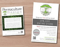 Event Table Signage for Permaculture Design Magazine