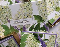 Caspari Inc. Spring 2017 Fleurs De Mariage White