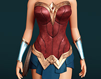 Wonder woman - update textures