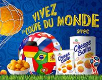 Cheese Balls, Coupe du monde de Football Russia 2018