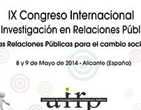 Imagen IX Congreso Internacional de Inv. en RR.PP.