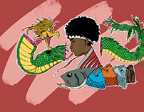 Legendary Sushi - The Fish Who Became A Dragon