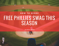 How to Score Free Phillies Swag This Season