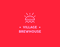 VILLAGE BREWHOUSE. Branding.