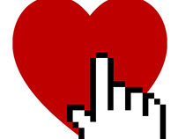 Clicking on the Heart (logo for Interactive Design)
