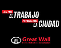 Brand communications - Great Wall