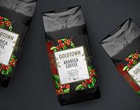 Goldtown | Packaging Label Design