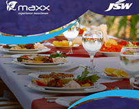 Catering service banners